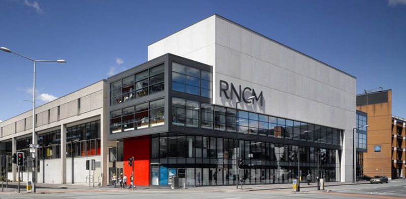 Royal Northern College of Music Location: Manchester, Greater Manchester Client/s: MBLA | RNCM | Zumtobel Lighting | Gifford | Galliford Try Construction | Capita Simonds Architect: MBLA Developer: RNCM